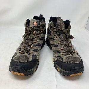Merrell Shoes - Merrell Men's Moab 2 Mid Ventilator Walnut J06045